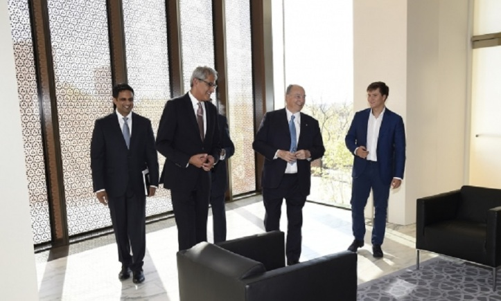 Aga Khan arrives for opening of Global Centre for Pluralism