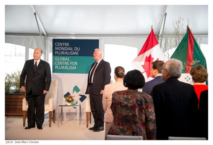 Aga Khan and David Johnson inauguration of Global Centre in Ottawa Barakah