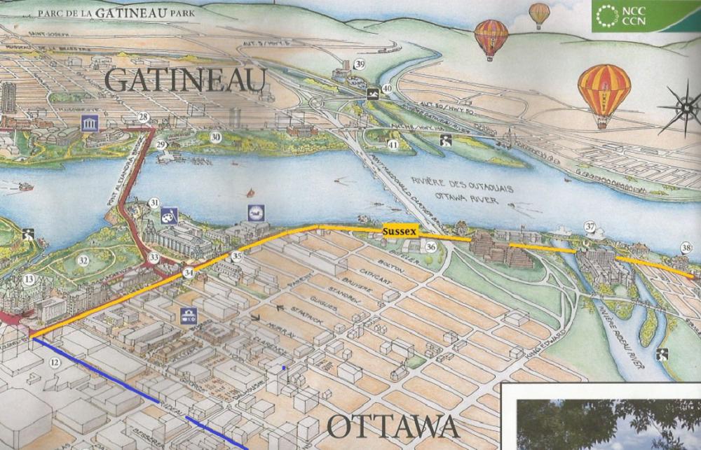 Ottawa Map Sussex Drive