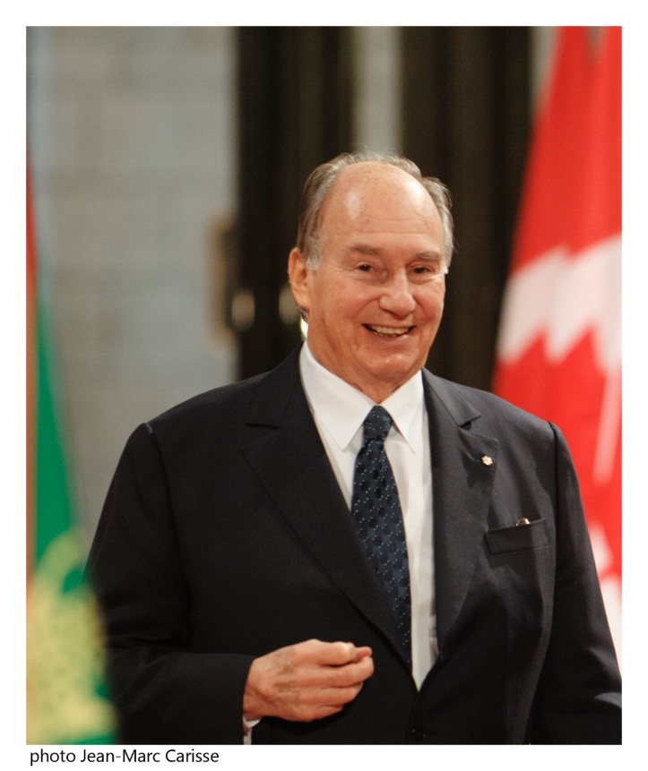 Aga Khan portrait by Jean Marc Carisse