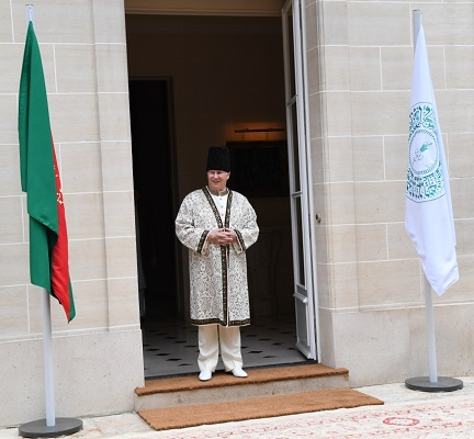 His Highness the Aga Khan Homage July 11 2017 Aiglemont France 2