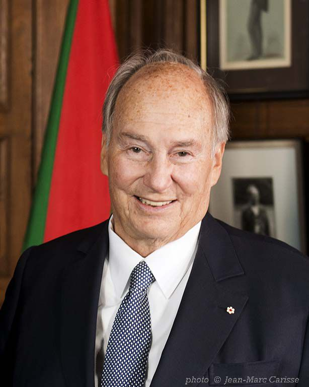 Portrait of His Highness the Aga Khan