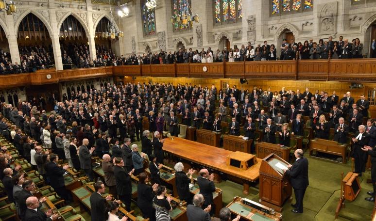 201427February__Aga Khan_JointSession_CanadaParliament_1