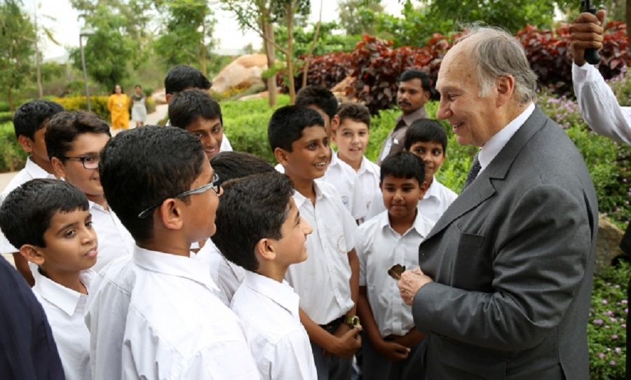 017-04 Aga Khan 2015 India Visit Academy