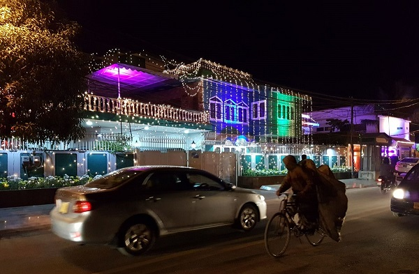 2017-12-14-Karachi Home decorated for Aga Khan visit front cover