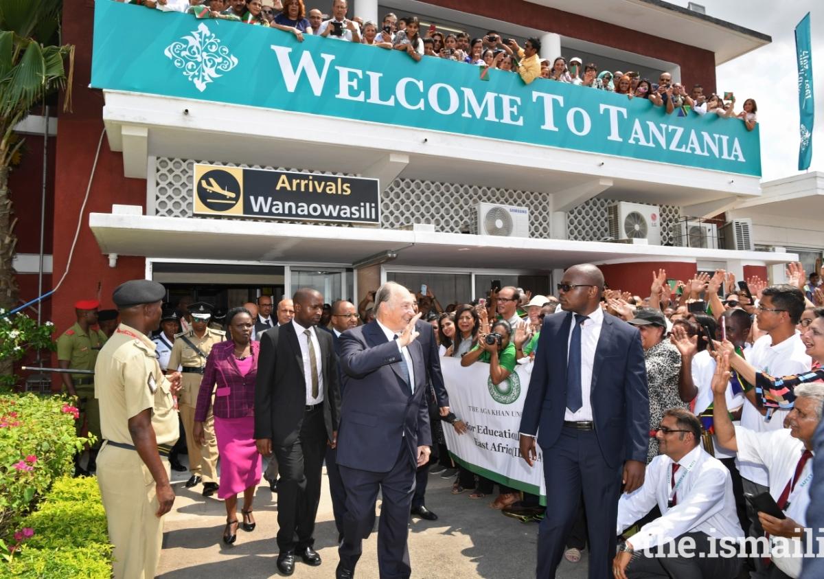 2017 Aga Khan Tanzania arrival zr2_9942e