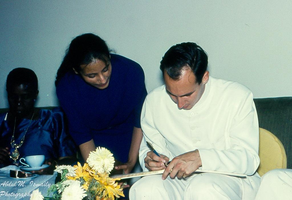 Aga Khan autographs
