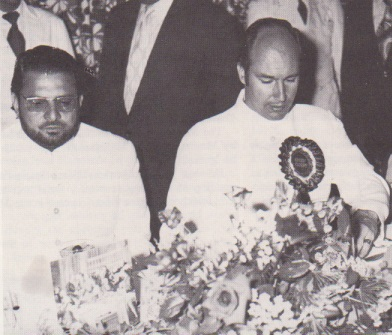 Aga Khan with Kausar Niazi cropped