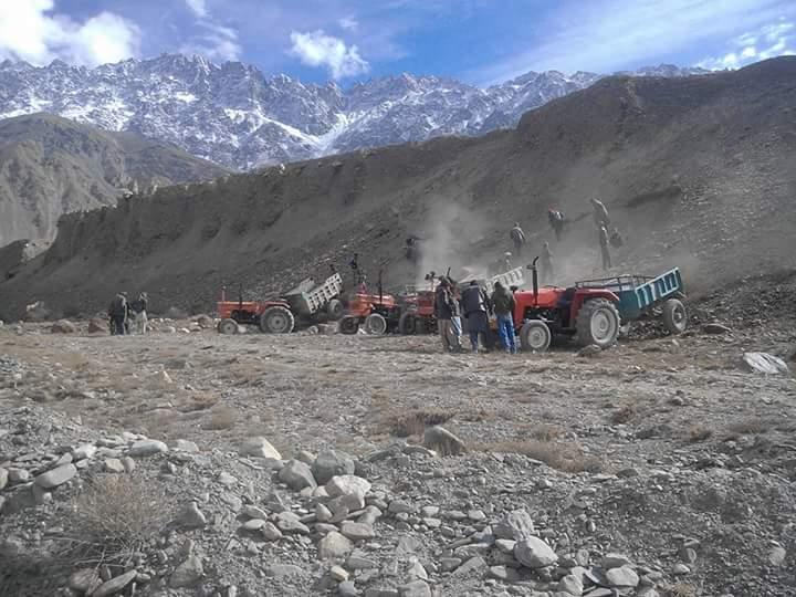 Aga Khan 2017 Chitral Visit preparations 02