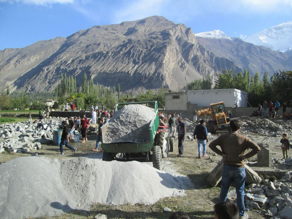 Aga Khan Visit Preparations Gilgit Baltistan 049 Faqir Ullah