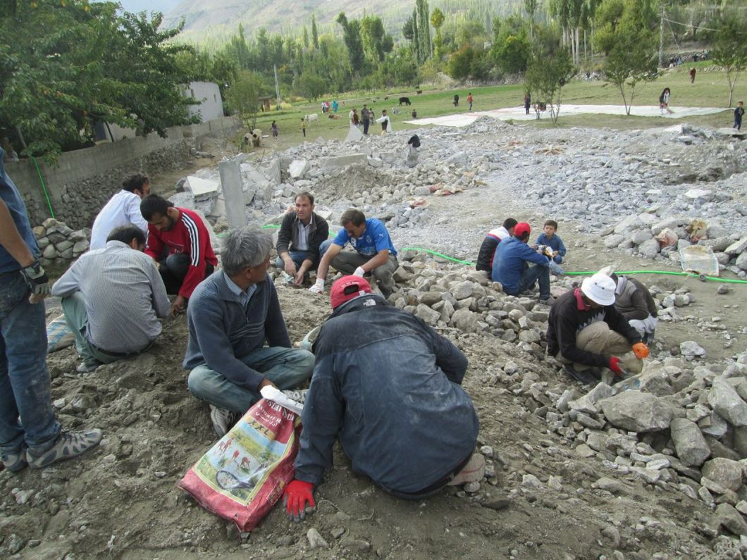 Aga Khan Visit Preparations Gilgit Baltistan 055 Faqir Ullah