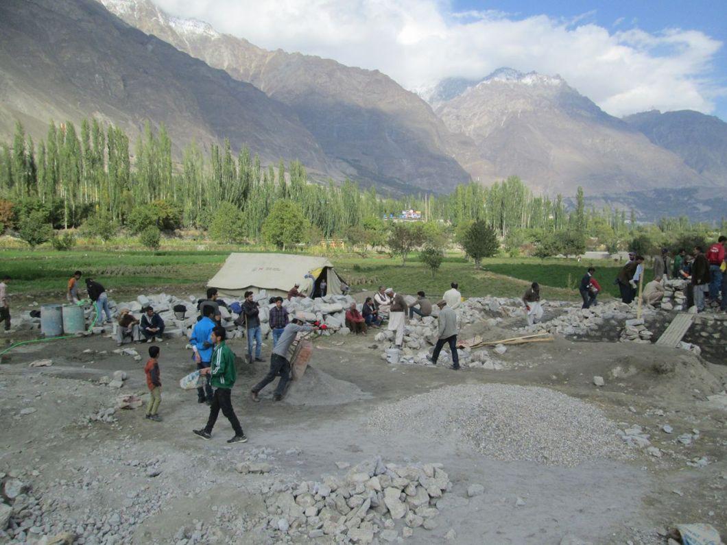 Aga Khan Visit Preparations Gilgit Baltistan 057 Faqir Ullah