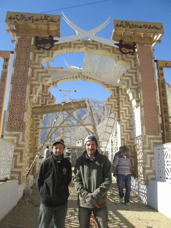 Aga Khan Visit Preparations Gilgit Baltistan 063 Faqir Ullah