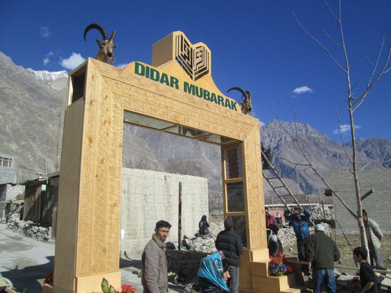 Aga Khan Visit Preparations Gilgit Baltistan 064 Faqir Ullah