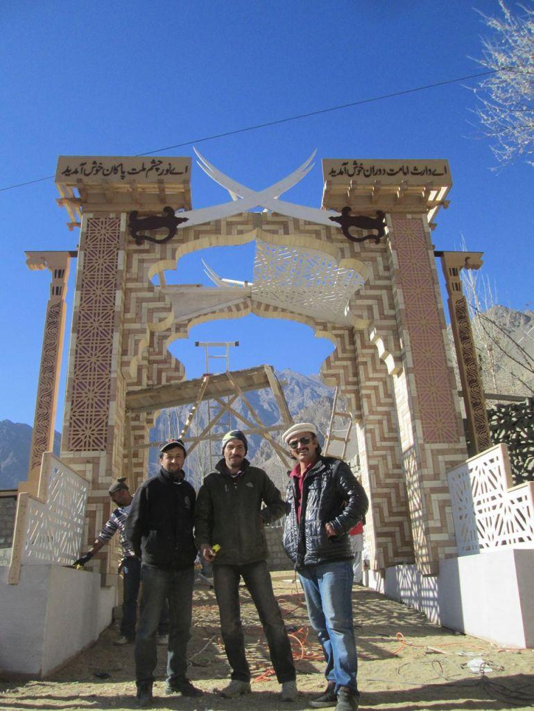 Aga Khan Visit Preparations Gilgit Baltistan 066 Faqir Ullah