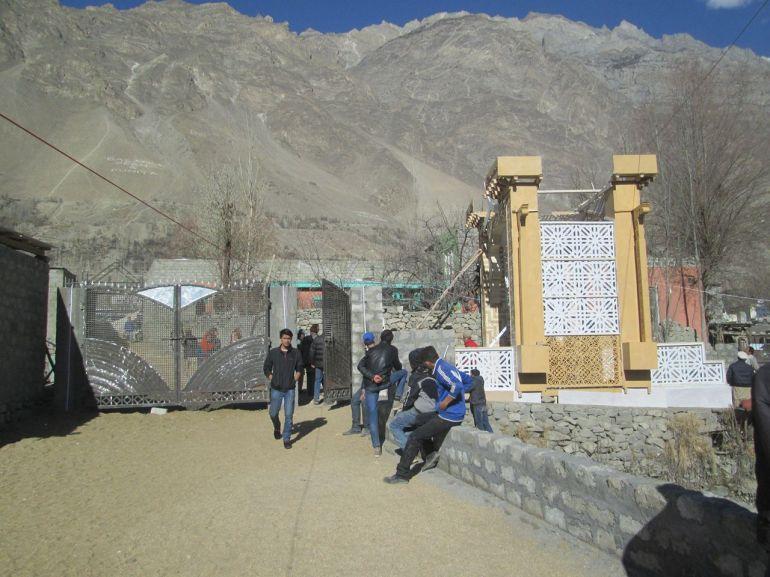 Aga Khan Visit Preparations Gilgit Baltistan 067 Faqir Ullah