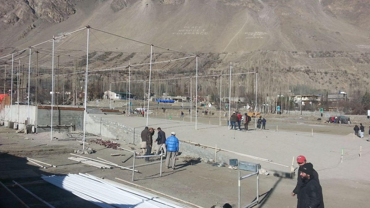 Aga Khan Visit Preparations Gilgit Baltistan 071a Faqir Ullah