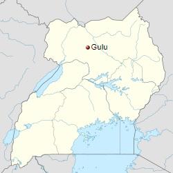 250px-Uganda_Gulu location_map