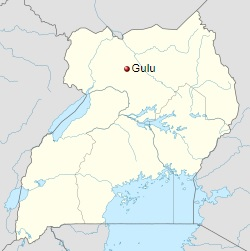 250px-Uganda_Gulu location_map