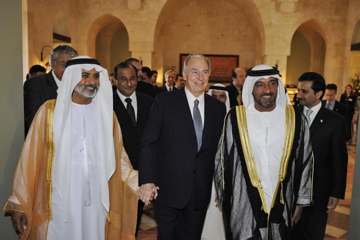 2826-Ismaili Centre Dubai Opening Ceremony Aga Khan