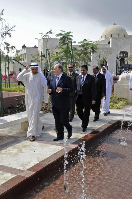 908_Ismaili Centre Dubai Park Aga Khan