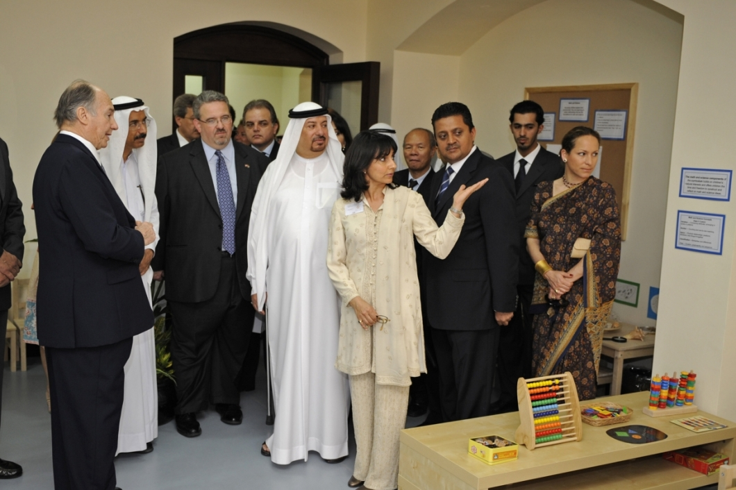 912-Ismaili Centre Dubai Aga Khan Visits Early learning Centre