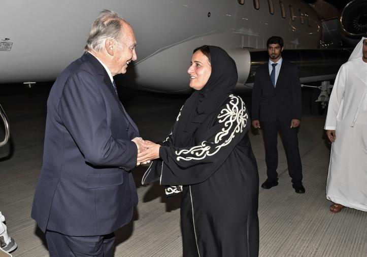 Aga Khan arrival for Aga Khan Award for Architecture