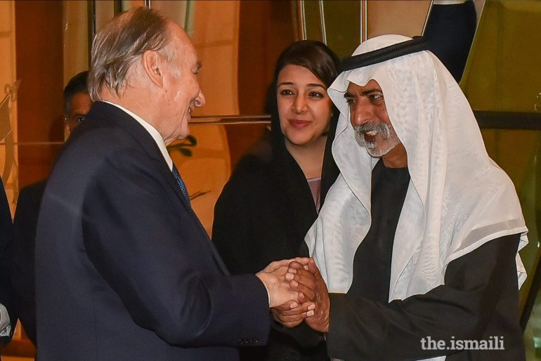 Aga Khan Diamond Jubilee Dubai Arrival 02a