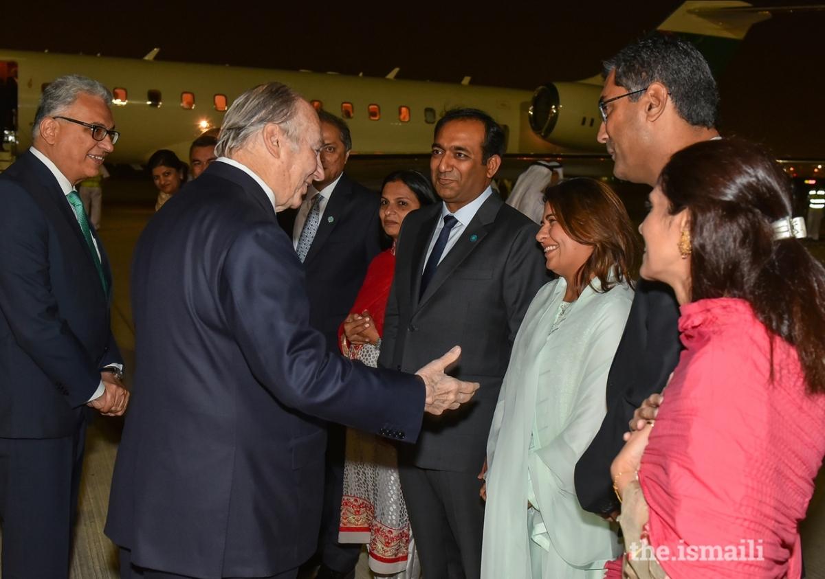 Aga Khan Diamond Jubilee Dubai Arrival 04