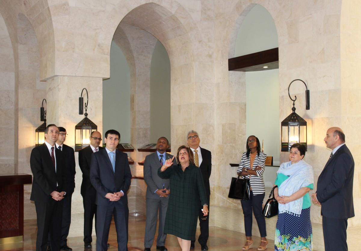 Dubai Ismaili Centre Visit by Rwanda and Tajikistan.jpg
