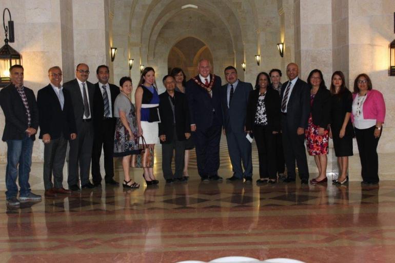 Ismaili Centre Dubai markham_mayor visit