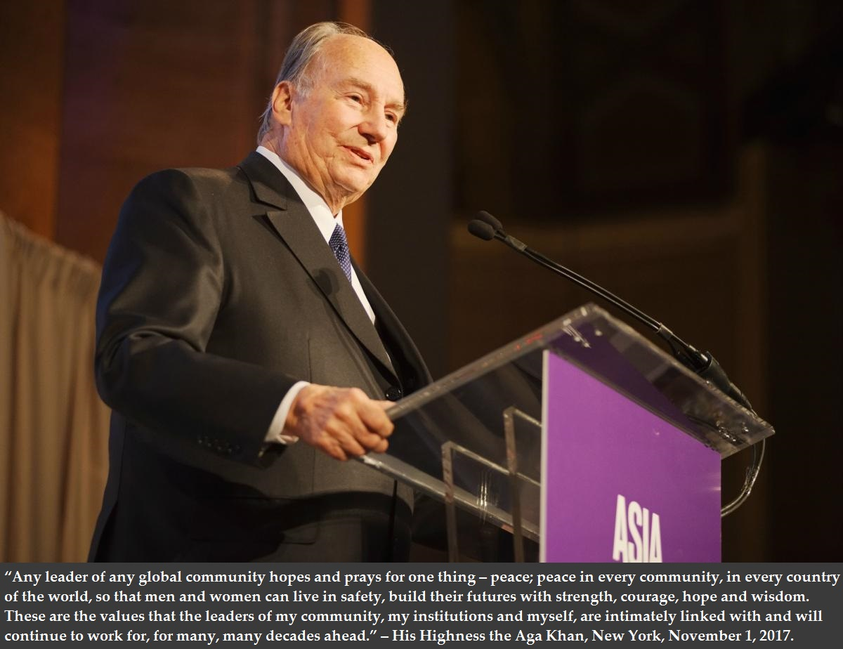 His Highness the Aga Khan to visit USA in March 2018: National Council President delivers inspiring video message