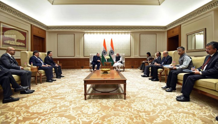 20180221-03_Aga Khan with Prime Minister Modi