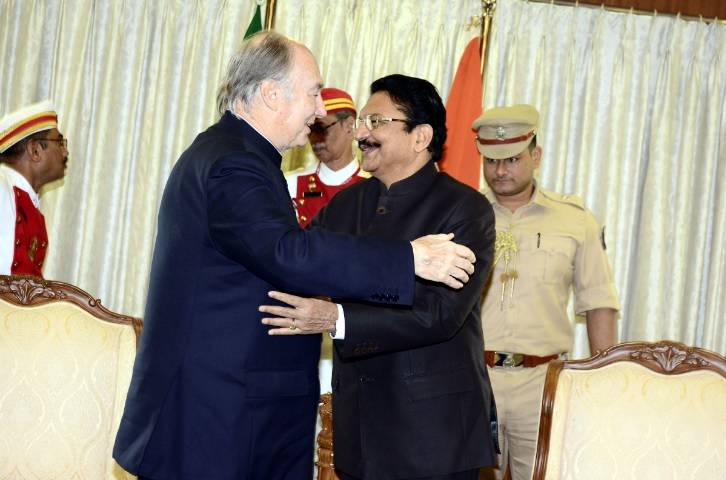 Aga Khan meets with Governor of Maharashtra