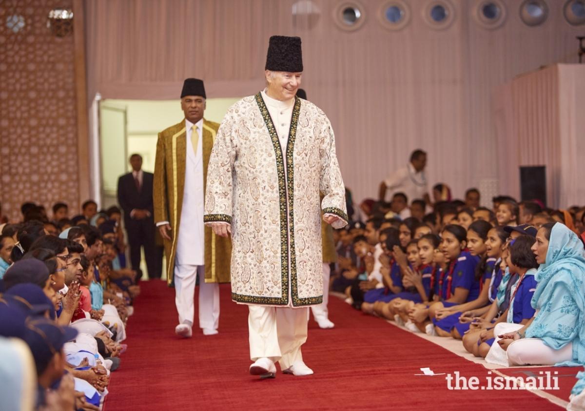 Aga KhanDiamond Jubilee visit to India Darbar