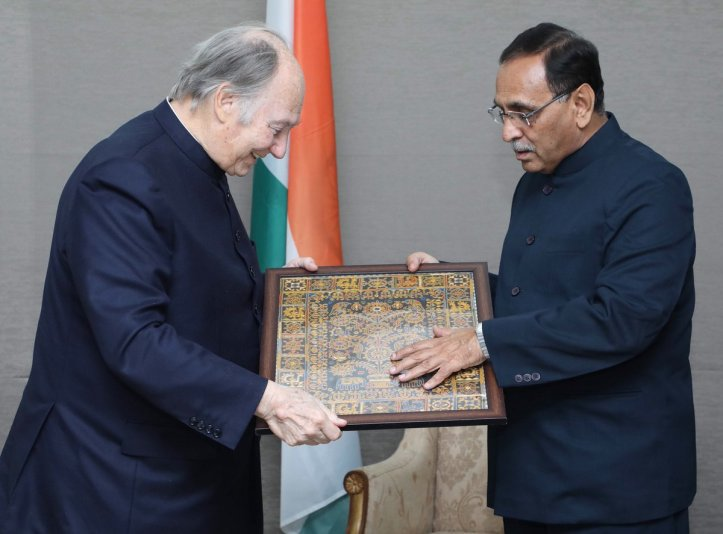 Chief Minister of Gujarat and the Aga Khan