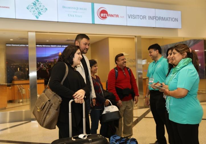 Aga Khan Diamond Jubilee Atlanta guests arrive at airport_0262