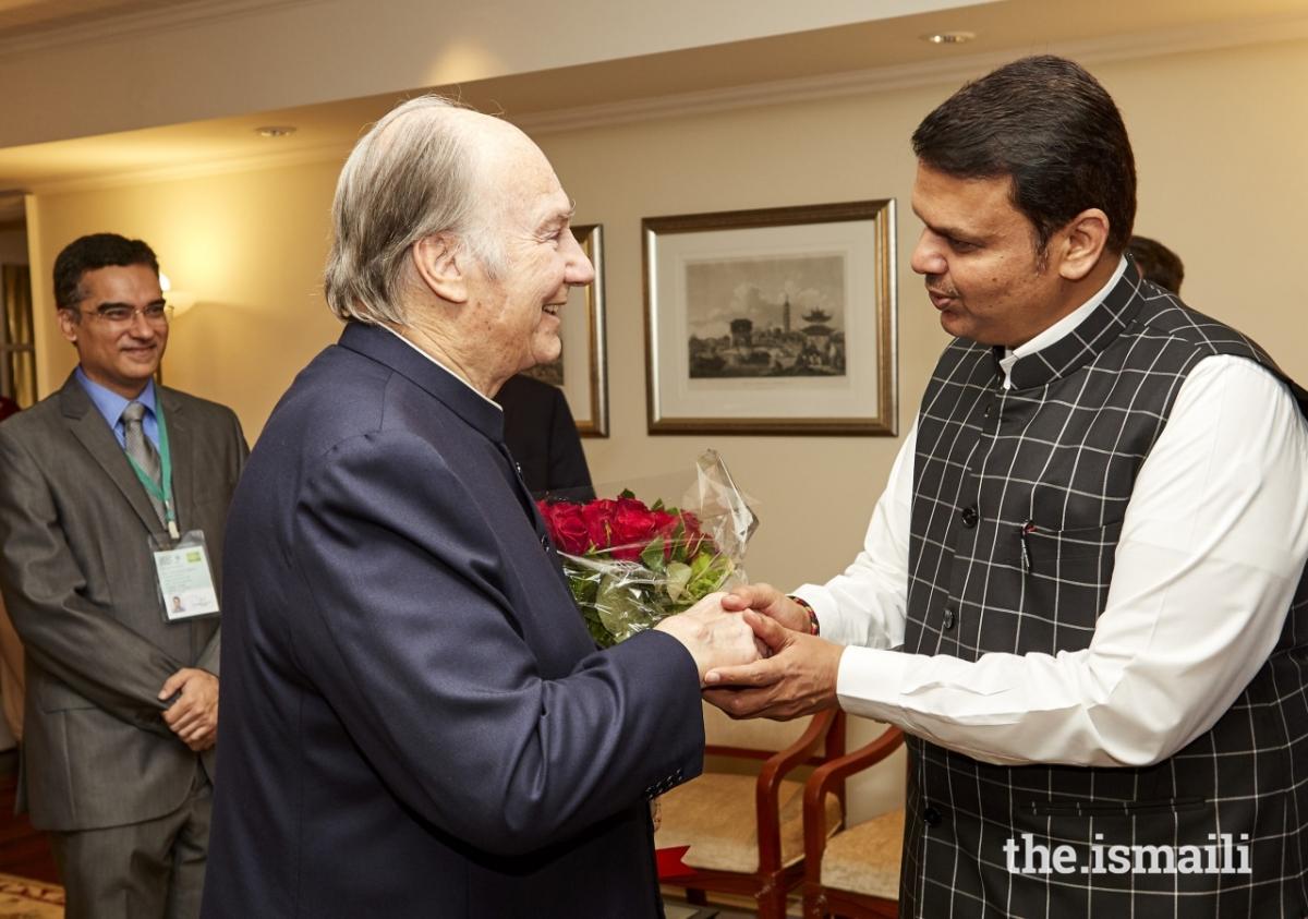 Aga Khan Diamond Jubilee Visit India Flowers 019