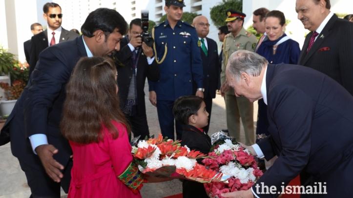 Aga Khan Diamond Jubilee Visit Uganda Flowers 007