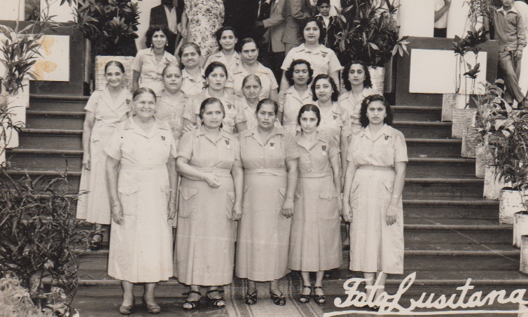 Ismaili Ladies Volunteers Lourenço Marques Jamat late 1950's
