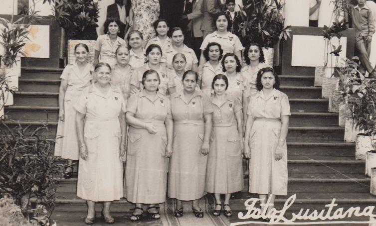 Ismaili Ladies Volunteers Lourenço Marques Jamat late 1950's
