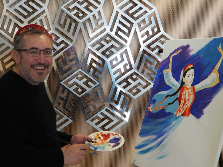 Ismaili artist Akim