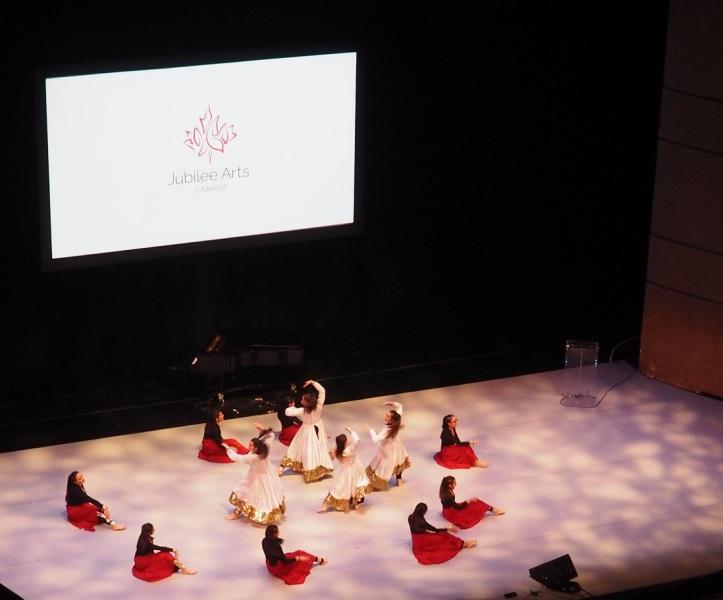 Aga Khan Diamond Jubilee National Arts Festival Canada 2018.