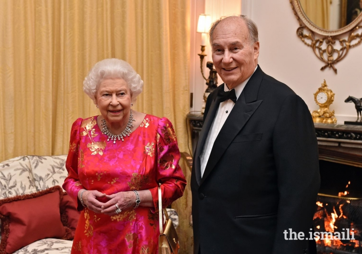 Queen hosts Aga Khan at Windsor Castle for his Diamond Jubilee 02