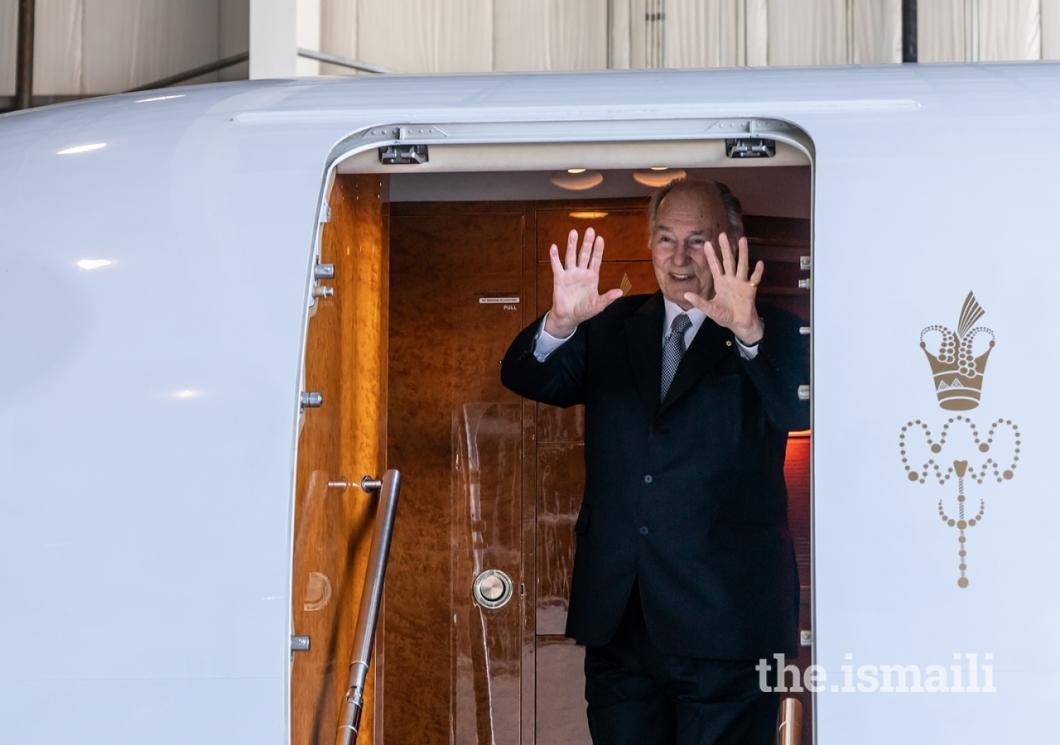 1-Aga Khan Mawlana Hazar Imam goodbye Calgary