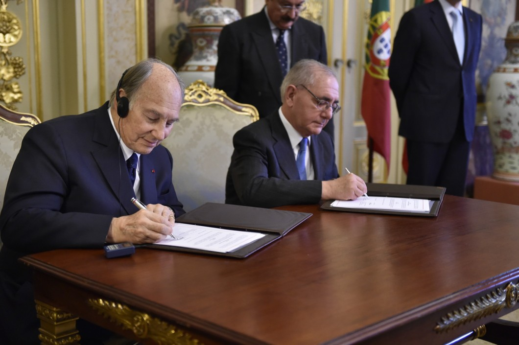 2015-06-portugal-54865_Aga Khan Landmark Agreement Seat of Imamat
