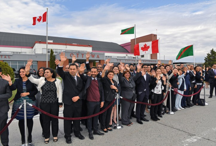Ismaili Council for Canada-Aga Khan Arrives in Canada for Offici