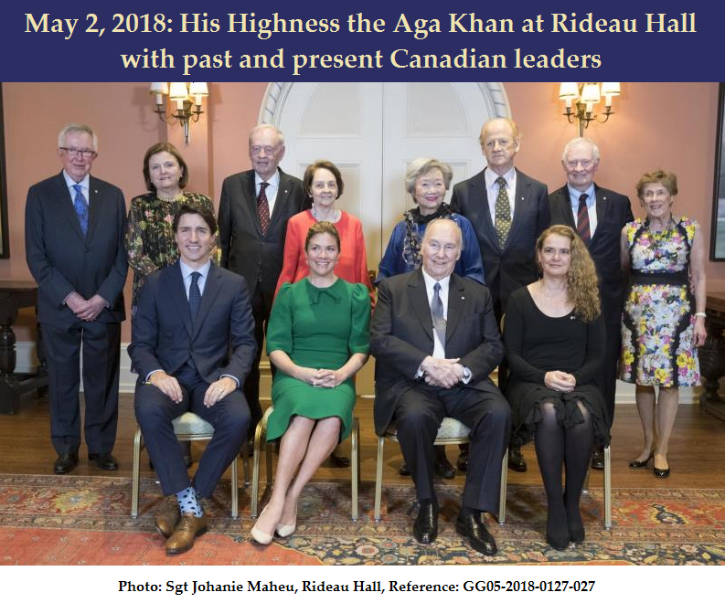Aga Khan with Governor Generals and Prime Ministers of Canada Featured Image