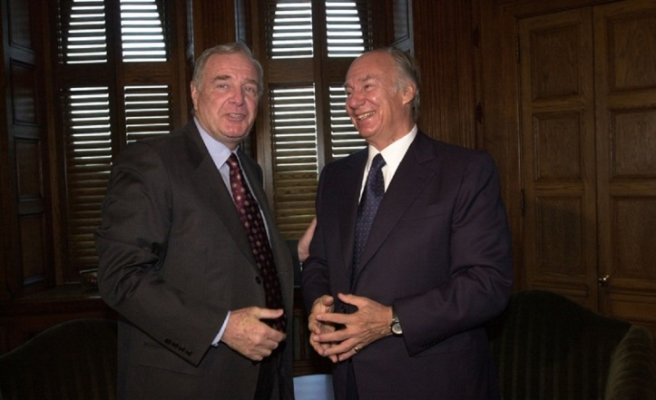 Aga Khan with Paul Martin 2