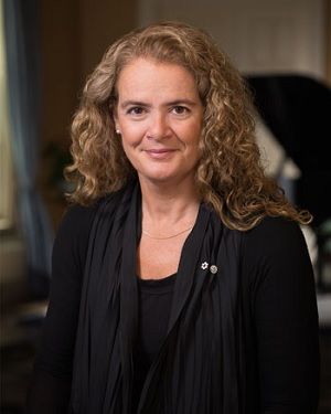 Canada's 29th Governor General Julie Payette